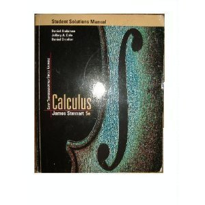 Single Variable Calculus Early Transcendentals: Student Solutions Manual
