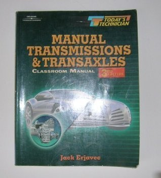 Today S Technician: Manual Transmissions and Transaxles CM