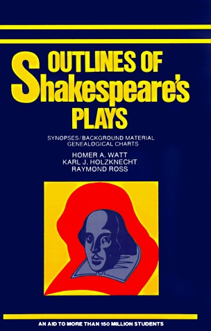 Outlines of Shakespeare's Plays by Homer A. Watt