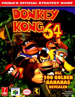 Donkey kong 64: prima's official strategy guide (0761522794.
