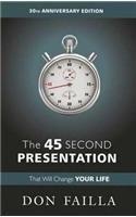 The 45 Second Presentation
