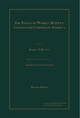 Ebook The Essays of Warren Buffett: Lessons for Corporate America, Second Edition by Warren Buffett DOC!