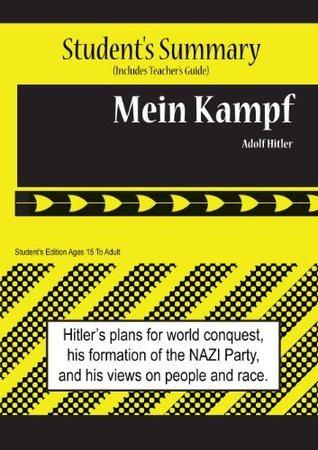 Mein Kampf Analysis and Summary