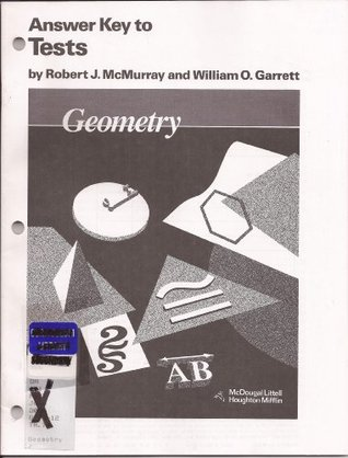 Houghton Mifflin - Geometry - Answer Key to Tests