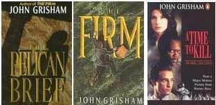 John Grisham: 3 Novels