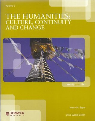 The Humanities: Culture, Continuity and