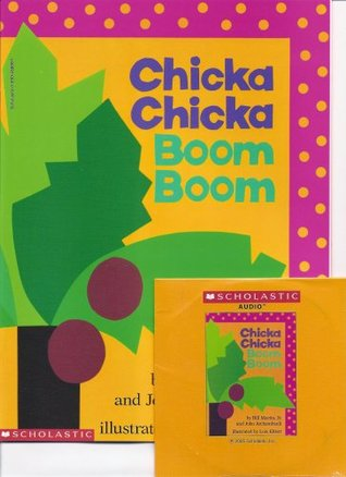 Chicka Chicka Boom Boom Book and Audio CD Set