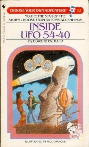 Inside UFO 54-40 by Edward Packard