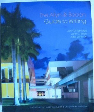 Allyn and Bacon Guide to Writing: Custom Edition for Florida International University