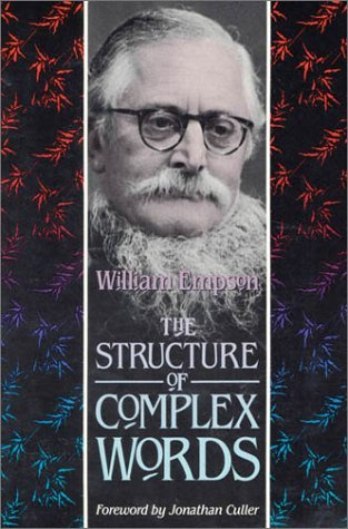The Structure of Complex Words by William Empson