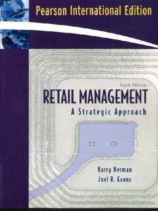 Retail Management: A Strategic Approach