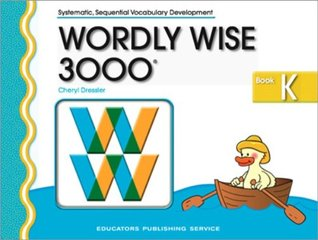 Wordly Wise 3000 Book K Student Workbook 2nd Edition by Cheryl Dressler