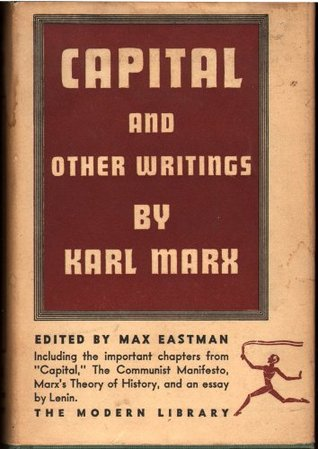 capital the communist manifesto and other writings by karl marx 1535014