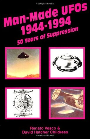 Man-Made UFOs, 1944-1994: Fifty Years of Suppression by Renato Vesco