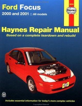 Haynes 2000 and 2001 Ford Focus Repair Manual