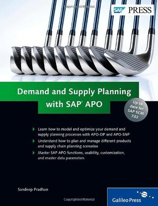 Demand and Supply Planning with SAP Apo. Sandeep Pradhan