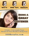 Being a Great Listener (555 Results Series)