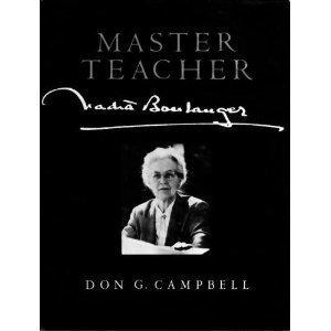 Master Teacher, Nadia Boulanger