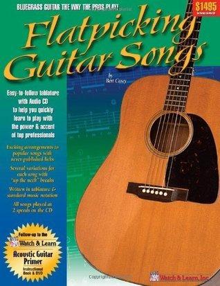 Flatpicking Guitar Songs Book & audio CD