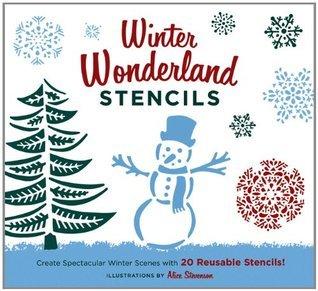 Winter Wonderland Stencils: Create Spectacular Winter Scenes with 20 Reusable Stencils!