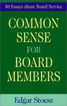 Common Sense for Board Members