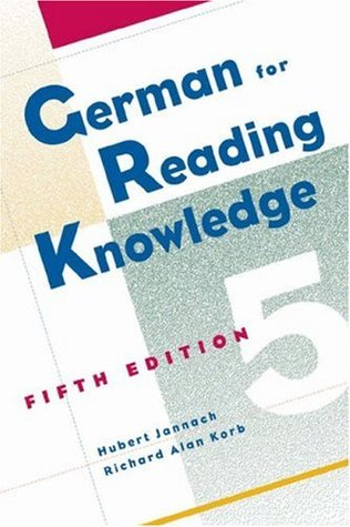 German for Reading Knowledge