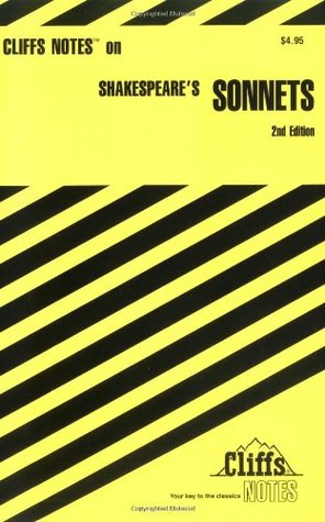 CliffsNotes on Shakespeare's Sonnets (Cliffsnotes Literature Guides)