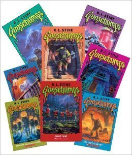 Goosebumps Book Set (8): The Headless Ghost; Attack of the Jack O Lanterns - Ghost Camp; Ghost Beach; Night of the Living Dummy; More Tales to Give You Goosebumps, Special Edition #2 (The Unofficial Goosebumps Box Set for Kids)