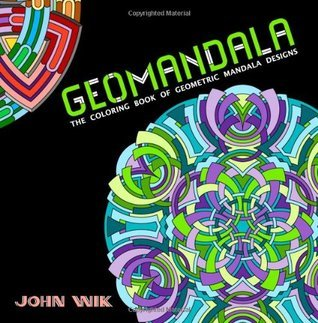 GeoMandala: The Coloring Book of Geometric Mandala Designs (Volume 1)