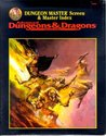 Dungeon Master Screen & Master Index (Advanced Dungeons & Dragons Accessory/9504)