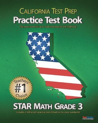 California Test Prep Practice Test Book Star Math Grade 3