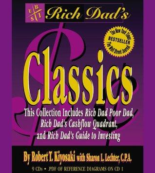 Rich Dad Poor Dad Cash Flow Quadrant Guide To Investing 3 Book Set