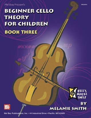 Beginner Cello Theory For Children, Book 3