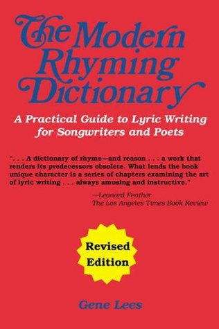 The Modern Rhyming Dictionary by Gene Lees