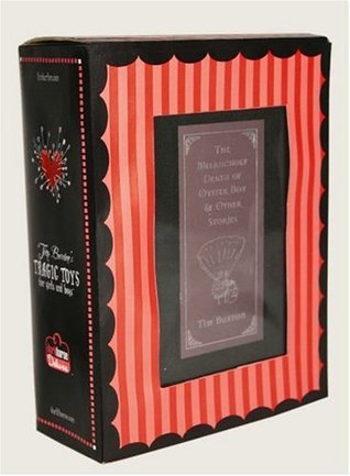 Tim Burton's Oyster Boy Book and Voodoo Girl Figure Boxed Set