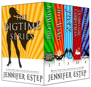 The Bigtime Series by Jennifer Estep