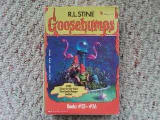 Goosebumps Boxed Set, Books 33 - 36: The Horror at Camp Jellyjam, Revenge of the Lawn Gnomes, A Shocker on Shock Street, and The Haunted Mask II