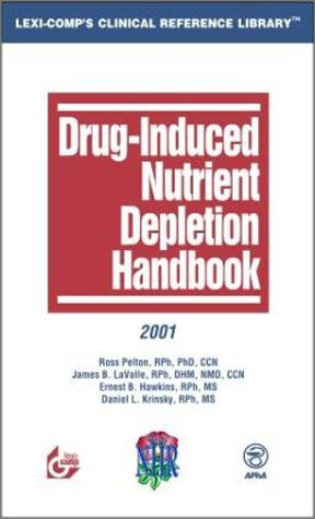 Drug Induced Nutrient Depletion Handbook