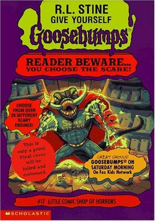 Little Comic Shop of Horrors (Give Yourself Goosebumps, #17)