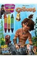 Eat Play Run: Book to Color with Crayons