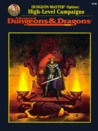 Dungeon Master Option: High-Level Campaigns (Advanced Dungeons & Dragons, 2nd Edition: Rulebook/2156)