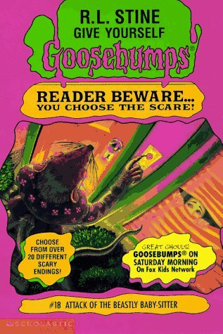 Attack of the Beastly Baby-Sitter by R.L. Stine