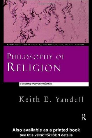 Philosophy Of Religion Book