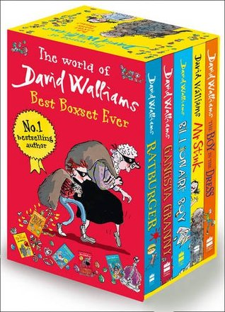The World of David Walliams: Best Boxset Ever: 5 Books: The Boy in the Dress; Mr Stink; Billionaire Boy; Gangsta Granny; Ratburger