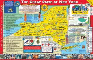 New York Poster Map