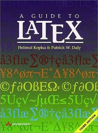A Guide to LATEX by Helmut Kopka