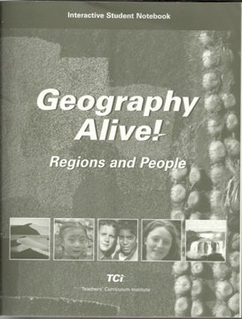 Geography Alive! Regions and People, Interactive Student Notebook