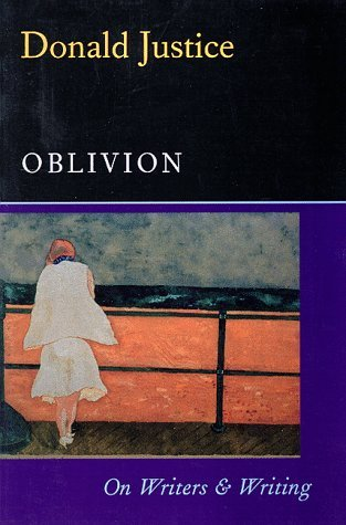 Oblivion: On Writers & Writing