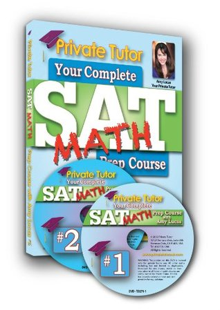 Private Tutor - MATH - 10-Hour Interactive 2013 SAT Prep Course - DVDs & Book