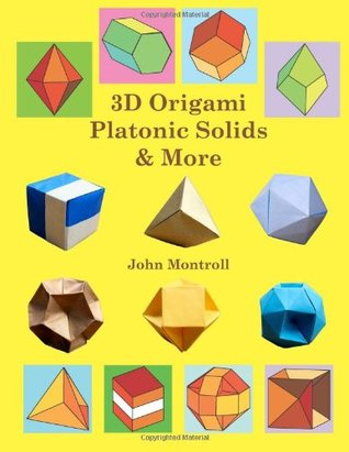 3D Origami Platonic Solids & More